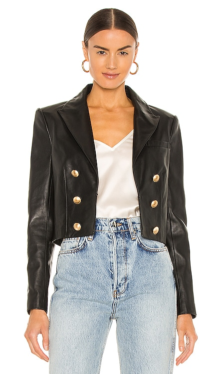 Inez Crop Blazer L'AGENCE $1,195