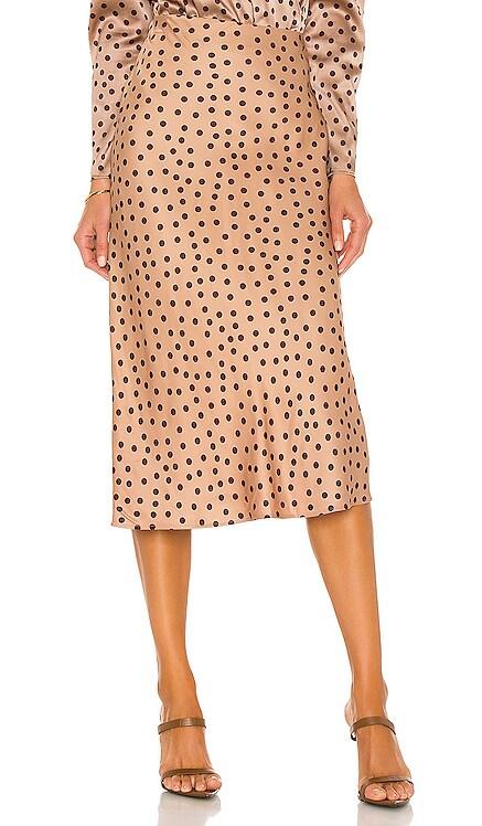Perin Bias Midi Skirt L'AGENCE $245