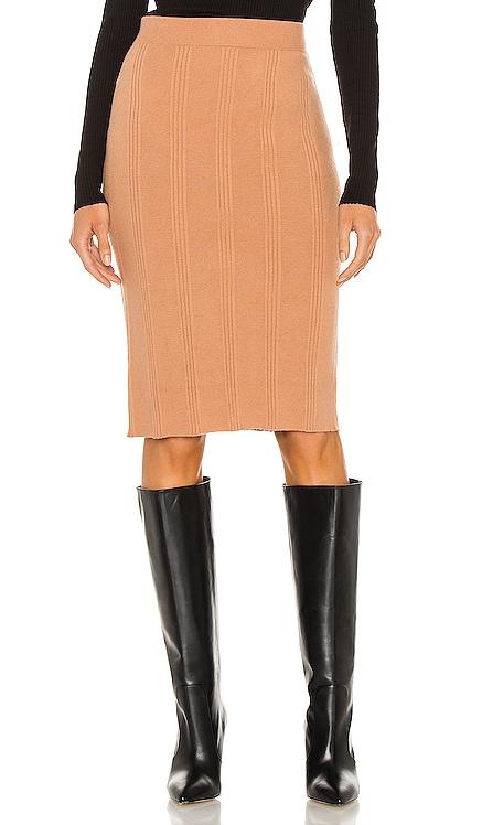 Jessica Knit Midi Skirt L'AGENCE $225