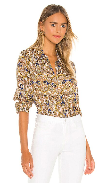 Nina Long Sleeve Blouse L'AGENCE $234