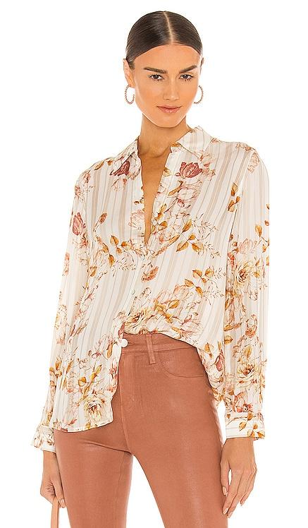 Nina Long Sleeve Blouse L'AGENCE $390 NOUVEAU