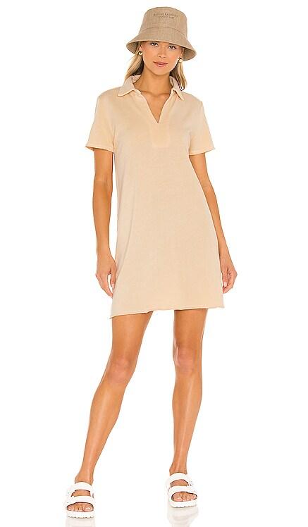 Porter Polo Mini Dress Lanston $158 NEW