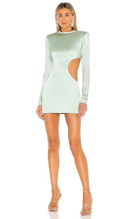 Cutout Side Detail Dress LaQuan Smith $1,550 NEW