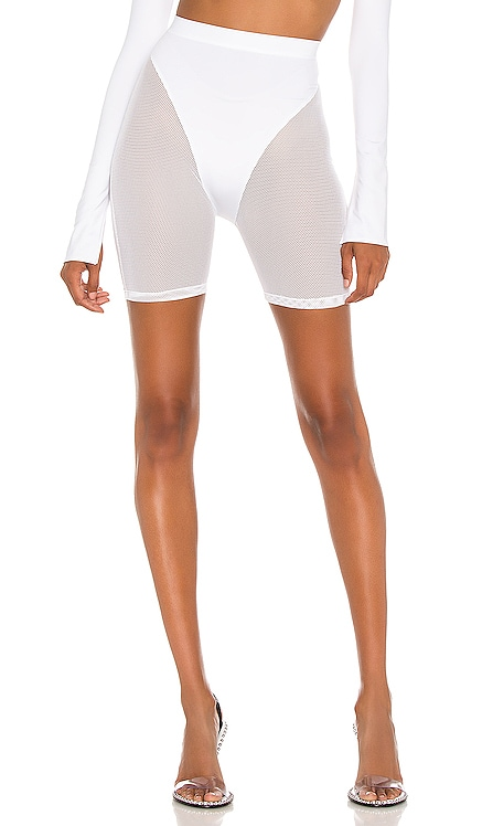 X REVOLVE Mesh Biker Short LaQuan Smith $245