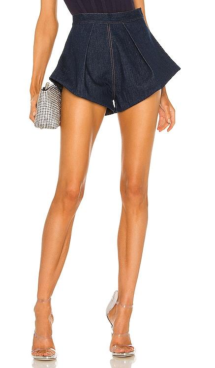 X REVOLVE Denim Shorts LaQuan Smith $595