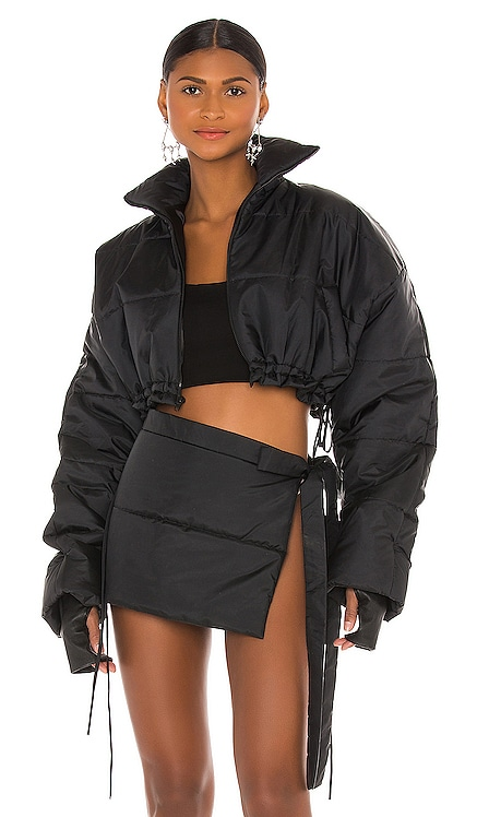 Cropped Puffer Jacket LaQuan Smith $875