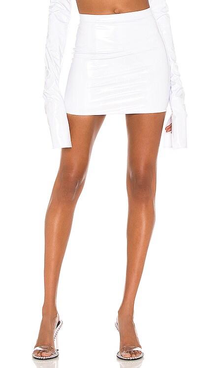 X REVOLVE High Waist Mini Skirt LaQuan Smith $325