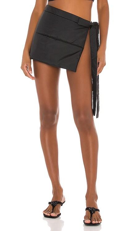 Nylon Puffer Skirt LaQuan Smith $400