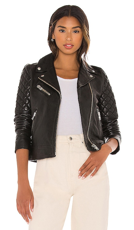 Marilla Leather Jacket LAMARQUE $675 NEW