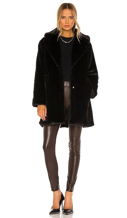 LINNEA 人造革大衣 LAMARQUE $250