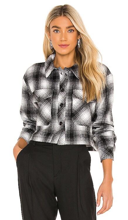 x REVOLVE Monique Plaid Shirt Jacket LAMARQUE $187