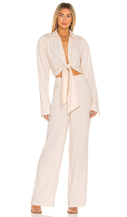 The Liana Jumpsuit L'Academie $248 NEW