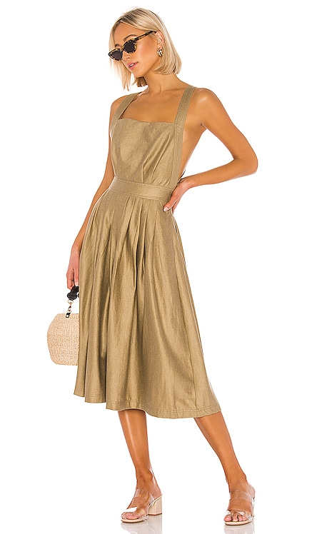 The Liane Midi Dress L'Academie $120
