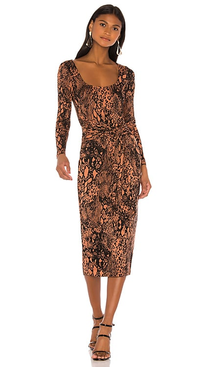 The Nancy Midi Dress L'Academie $33 (FINAL SALE)