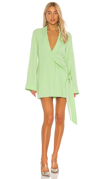 The Geraldine Mini Dress L'Academie $228