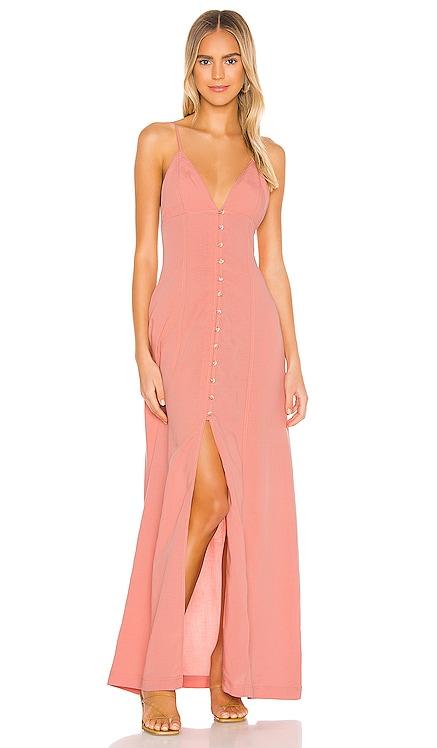The Caroline Maxi Dress L'Academie $174