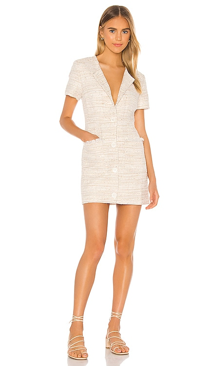 The Lola Mini Dress L'Academie $228 NEW