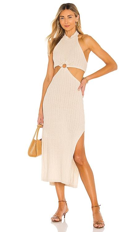 Magnolia Midi Dress L'Academie $188 NEW