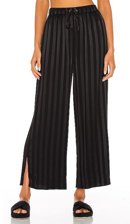 Pajama Cropped Slit Pant L'Academie $148 NEW
