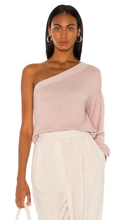 Aliza One Shoulder Sweater L'Academie $168 NEW