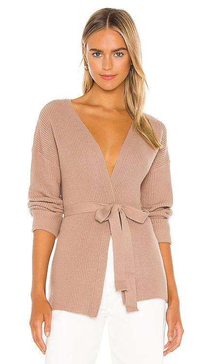 Kori Wrap Sweater L'Academie $138
