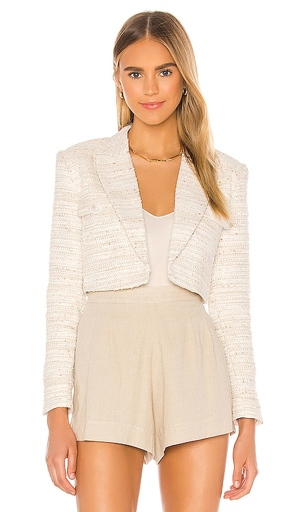 The Anika Crop Blazer L'Academie $198 NEW