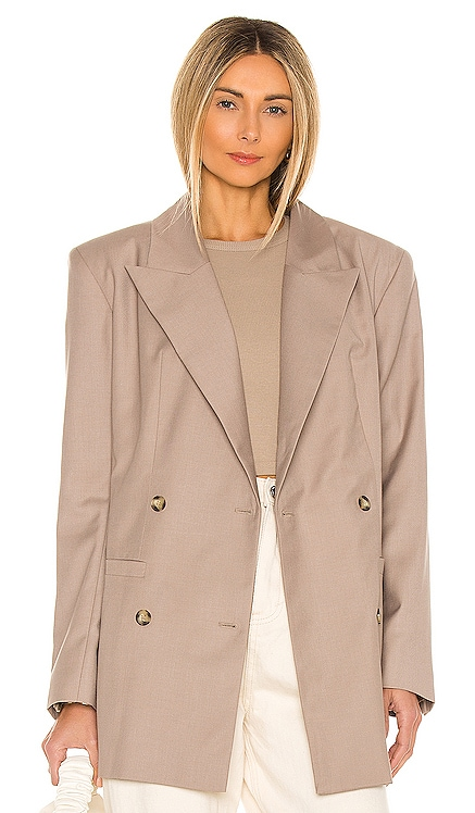 Oversized Double Breasted Blazer L'Academie $279