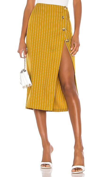 The Lisa Midi Skirt L'Academie $67