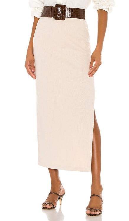 The Mia Midi Skirt L'Academie $148