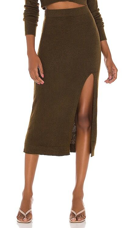 Drew Midi Skirt L'Academie $83