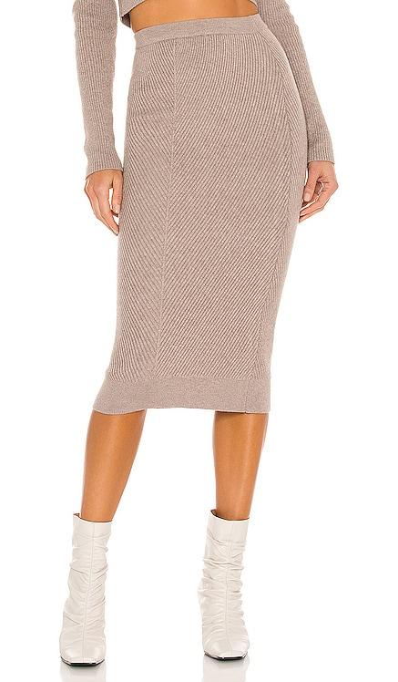 Sienna Midi Skirt L'Academie $168 NEW