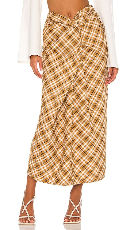The Avril Midi Skirt L'Academie $198