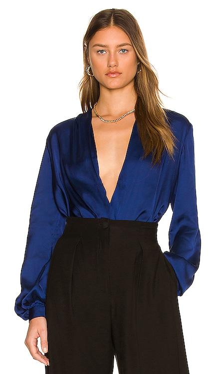 The Long Sleeve Bodysuit L'Academie $148 NEW