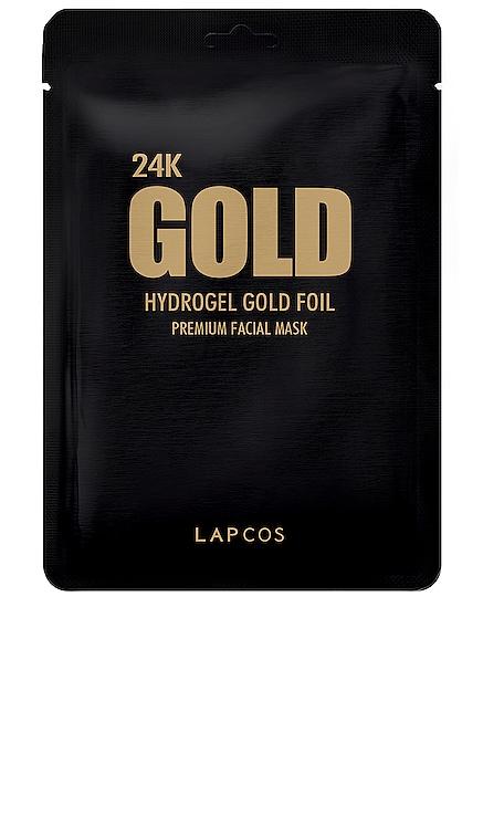 MÁSCARA DE LA HOJA 24K GOLD FOIL LAPCOS $7