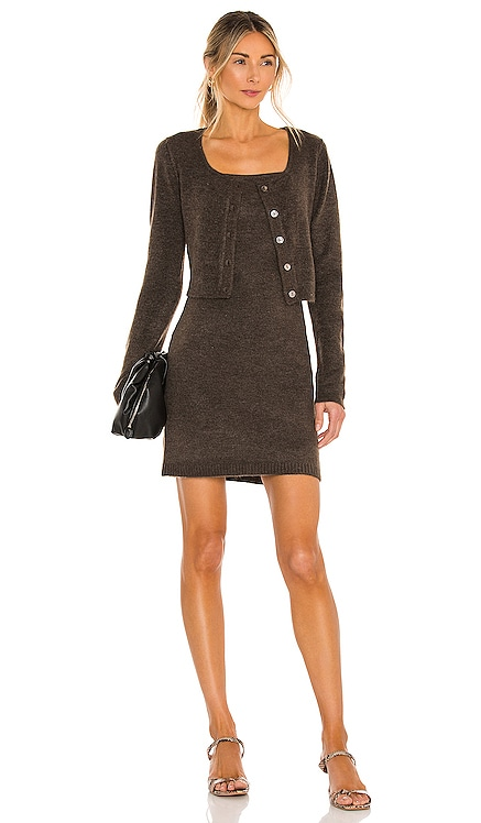 Haven Sweater Dress Line & Dot $154 NEW