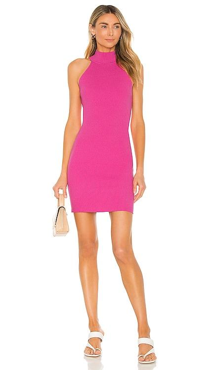 X REVOLVE Danielle Mini Dress Line & Dot $88 NEW