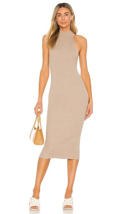 X REVOLVE Danielle Midi Dress Line & Dot $95 BEST SELLER