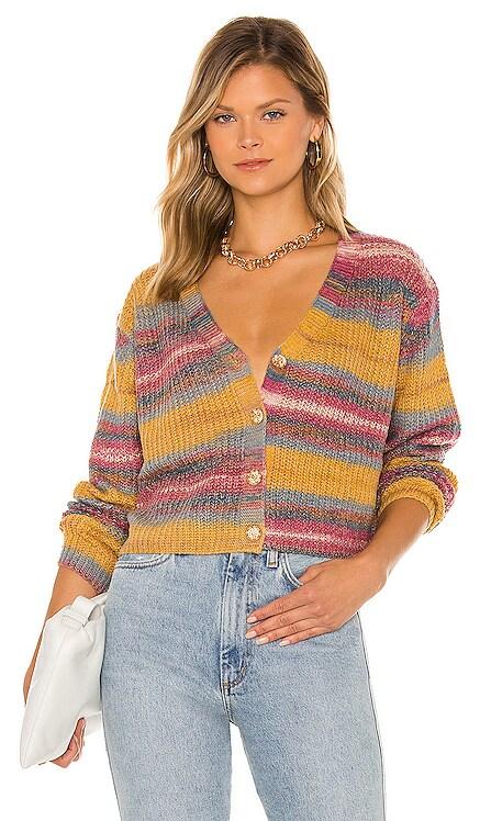 Be Mine Multi Sweater Line & Dot $95