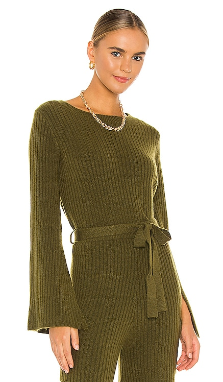 Ryder Sweater Line & Dot $87 NEW