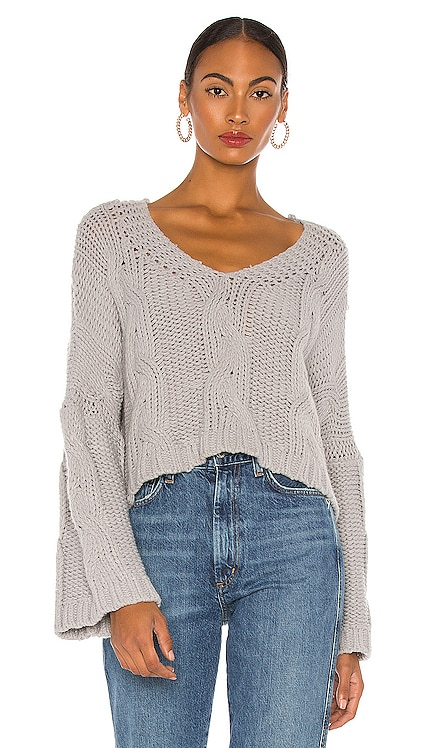 Kaylee Chain Pullover Line & Dot $63