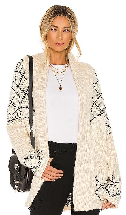 Elise Knit Cardigan Line & Dot $120