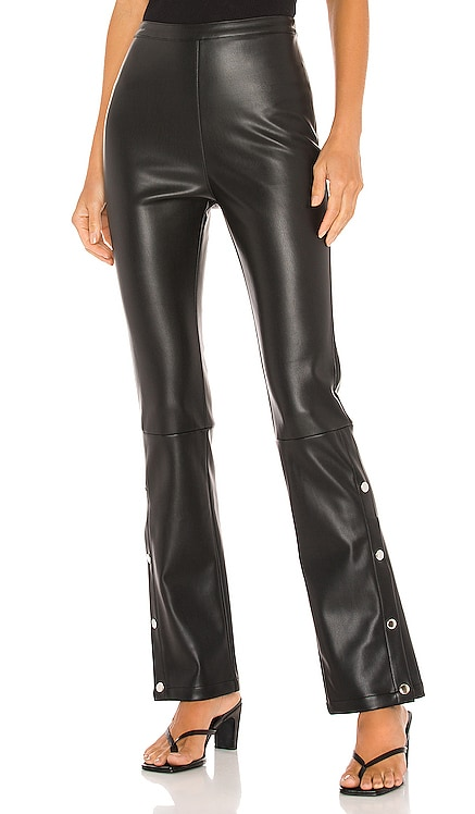 Kourtney Vegan Leather Pant Line & Dot $92