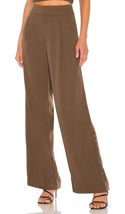 Berlin Button Slit Trouser Line & Dot $109 NEW