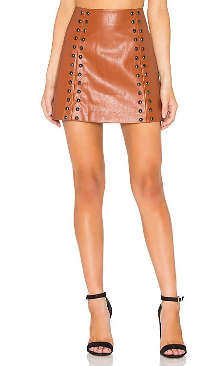 Stud A-Line Skirt Line & Dot $103
