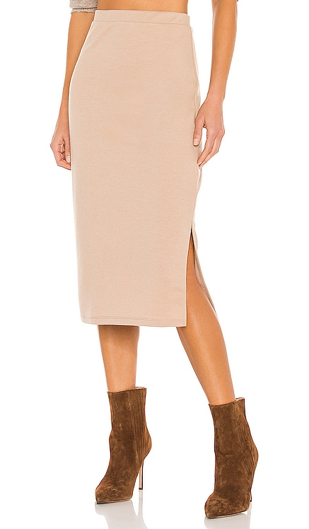 Cora Knit Skirt Line & Dot $61