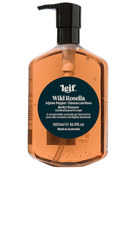 Wild Rosella Body Cleanser Leif $39 NEW ARRIVAL