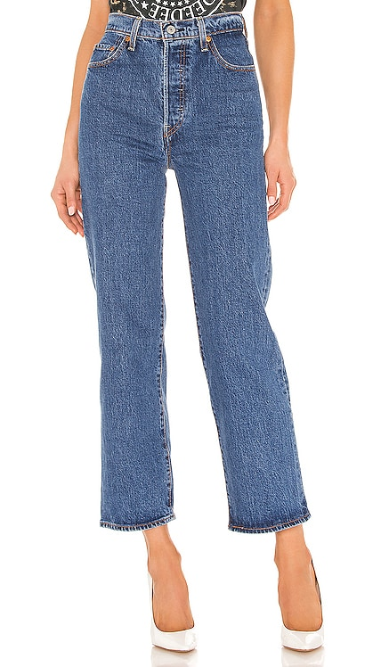 Ribcage Straight Ankle LEVI'S $98 BEST SELLER