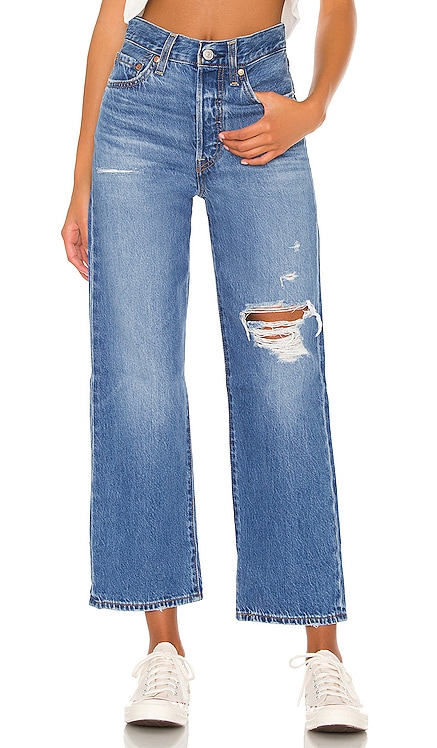 Ribcage Straight Ankle Jean LEVI'S $108 NEW