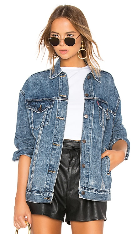 Baggy Trucker Jacket LEVI'S $98 BEST SELLER