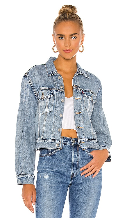 Full Sleeve Trucker Jacket LEVI'S $98 NEW